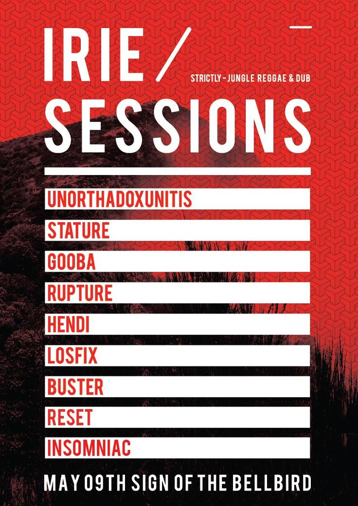Irie Sessions 001