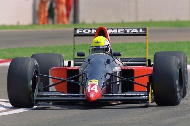 Andrea Chiesa | Fondmetal GR01 | San Marino Grand Prix