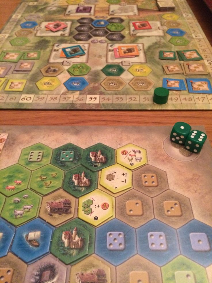 Castles of Burgundy. So good. 24 players. A mix of