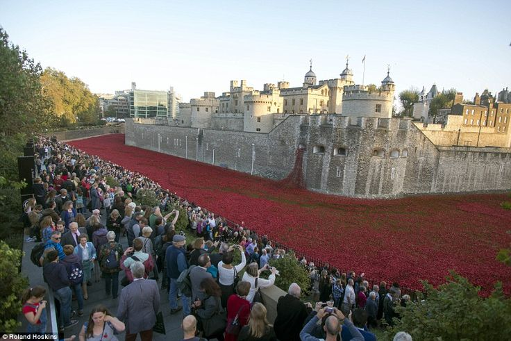 Magnificent: Millions of people have visited theBlood Swept Lands and Seas of Red install...