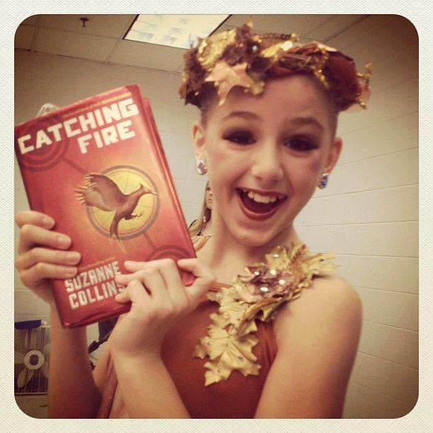 Well played Chloe ;) #dancemoms #catchingfire #hungergamesdancenumber