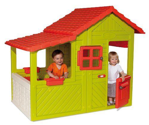 Smoby – 310247 – Jeu de Plein Air et Sport – Maison Floralie | Your #1 Source for Toys and Games