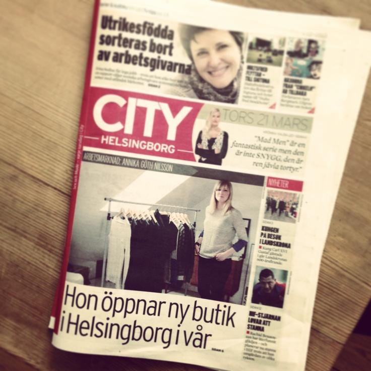 Cover girl #cityhelsingborg
