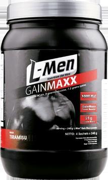 L-Men Gain Maxx : Powerful Weight Gain Formula!