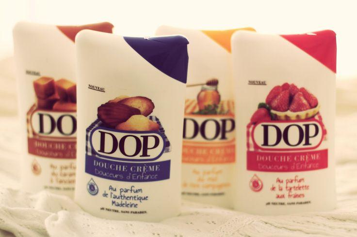 Dop Douche crème, Douceurs d'enfance
