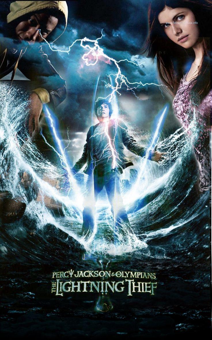 Percy Jackson and lightning thief movie poster 2   Percy ...