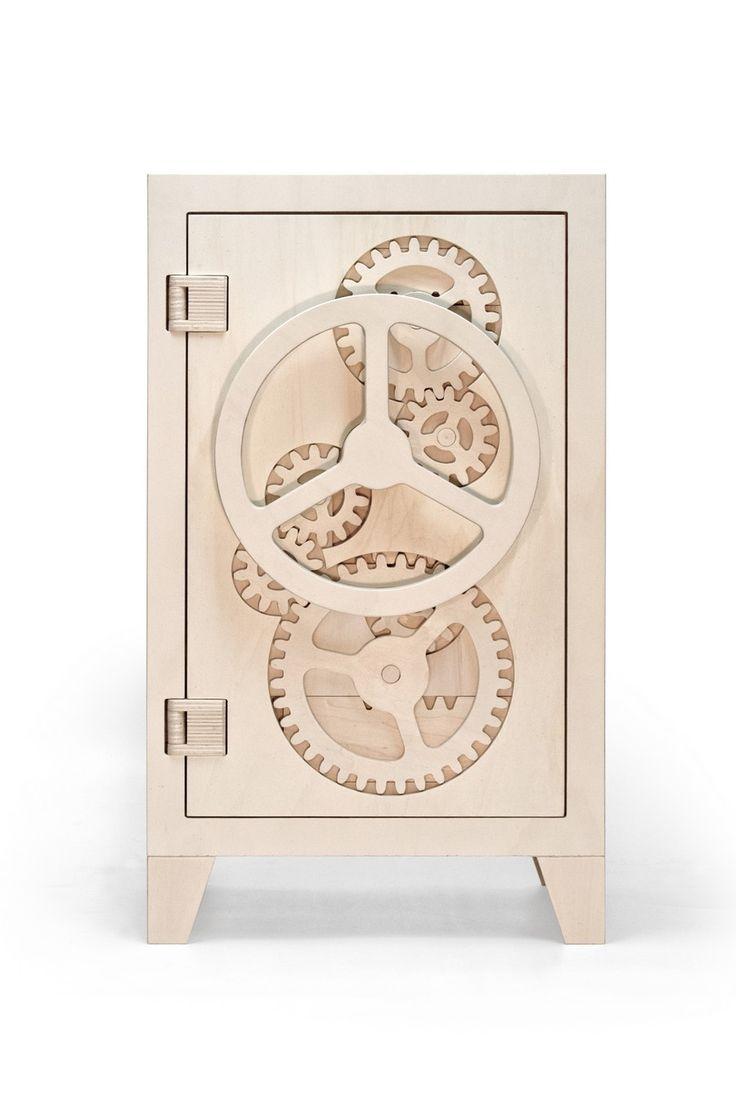 Playful and Provocative Wooden comodas #comodas  http://cnc.gallery/