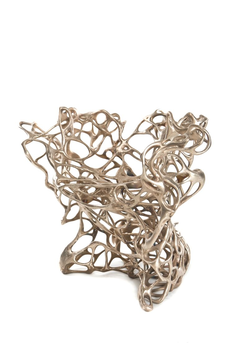 Unique Sculptural Chair In Organic Tangled Roots Form Growth Chair