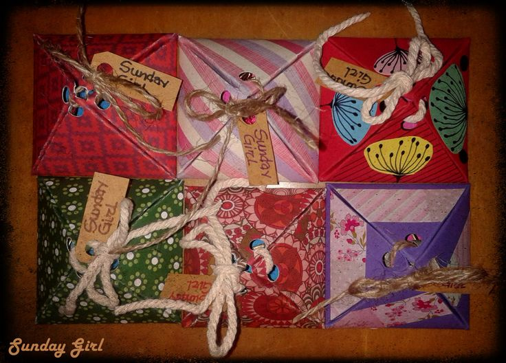 my handmade packages
