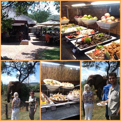 Afrikai szafari és kaszinó - Pilanesberg étterem