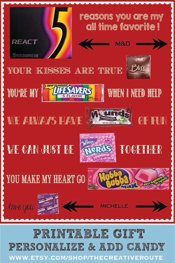 my candy love valentine's day questions