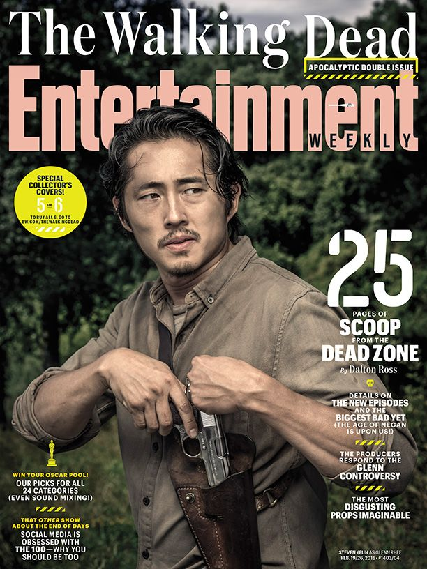 Exclusive! Here's your first look at what's to come on season 6 of #TheWalkingDead, including the most EPIC season finale yet:.  Photo credit: Dan Winters for EW.