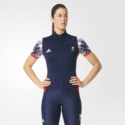 Team GB Replica Cycling Training Jersey - Womens