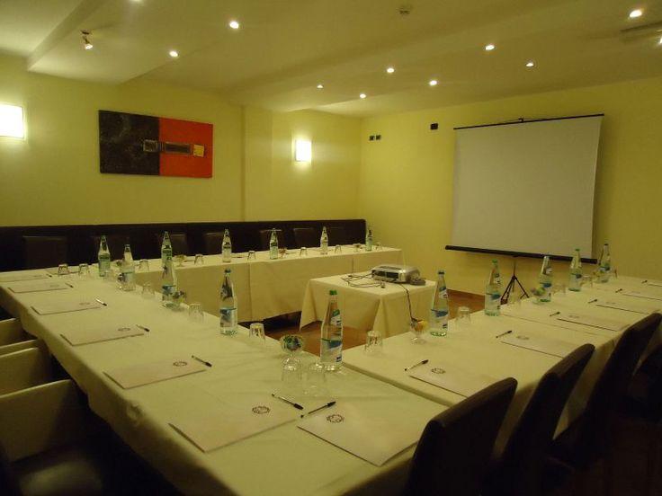 Sala Congressi dell'Hotel Castelbarco di #Vapriod'Adda #Nettopartners
