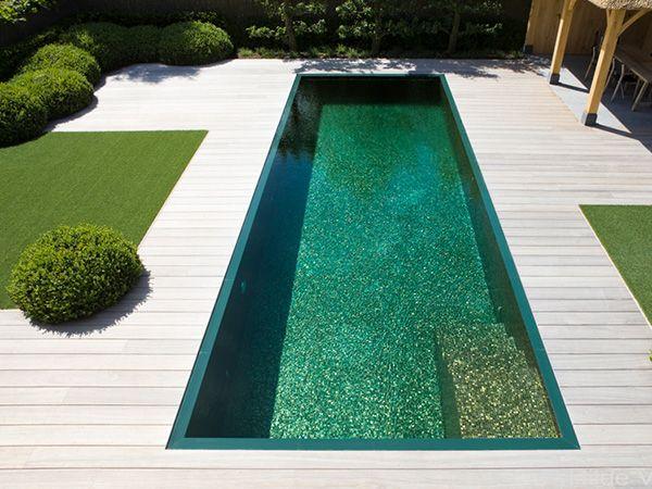 35 Inspiring and Eye Catching Backyard Pool Landscaping Ideas : Summer Paradise Backyard Pool Landscaping Ideas