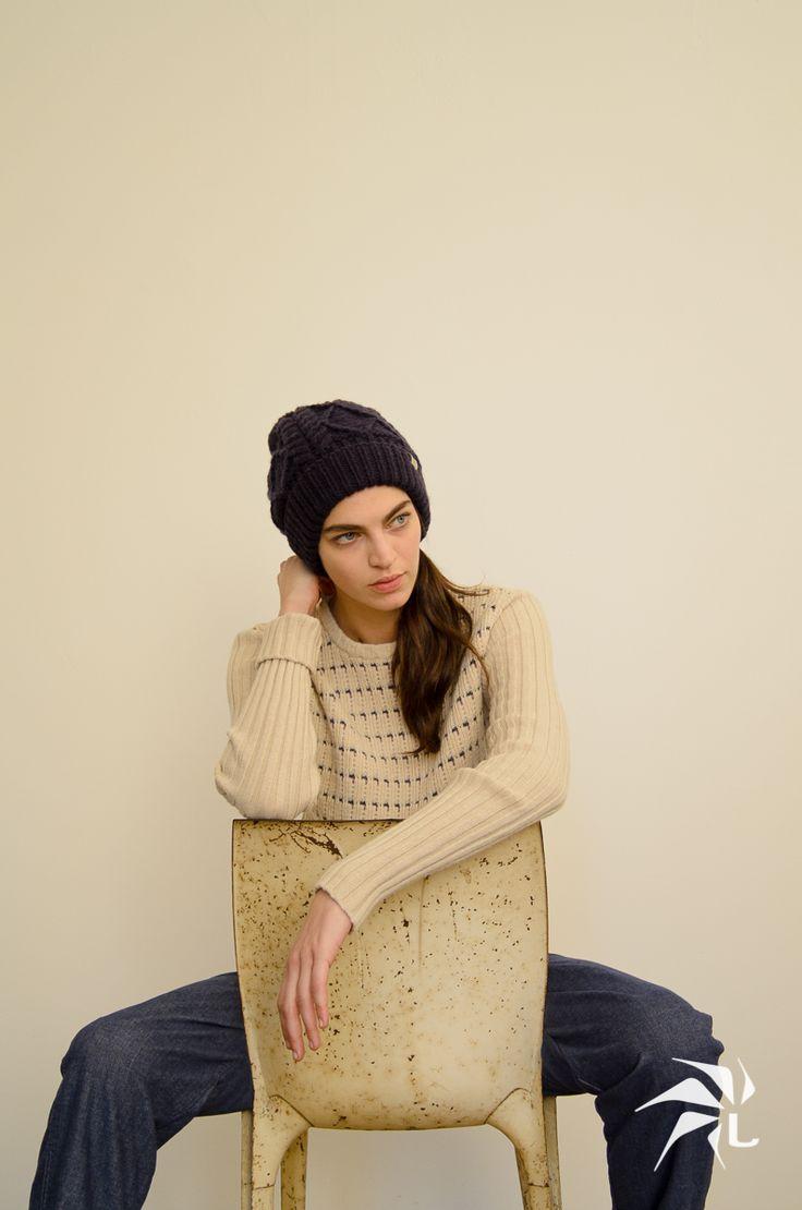 Ireland Hat. Tina sweater. Edera Pants.