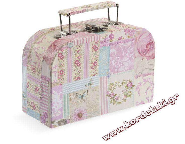 Κουτί βαλιτσάκι floralγια μπομπονιέρα γάμου και βάπτισης, στολισμούς, κατασκευές, διακοσμήσεις ή οτιδήποτε έχετε φανταστεί.