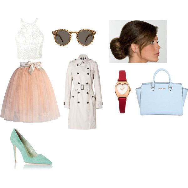 Untitled #24 by saiyabedi on Polyvore featuring Ally Fashion, Burberry, Chicwish, Dee Keller, MICHAEL Michael Kors, Oasis and Illesteva