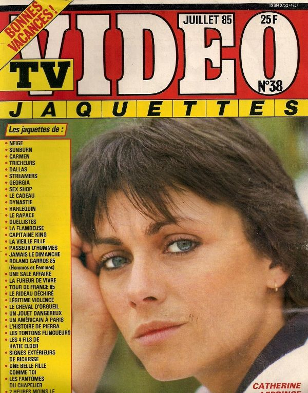 TV Video Jacquettes, July 1985 (Catherine Leprince)
