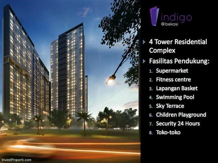 Indigo Bekasi apartemen dengan 4 tower.