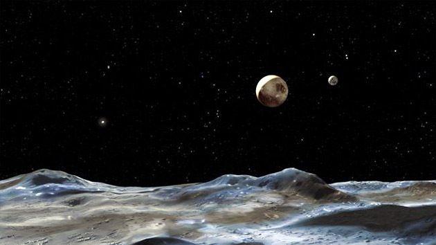 DivaDeaWeag / In luna di pluton potrebbe essere un oceano sotterraneo:La luna  gigante di Plutone potrebbe  avere un oceano di acqua liquida sotto la superficie,secondo gli ultimi centri di ricerca della NASA nelle crepe nelle superficie ghiacciata di Caronte.