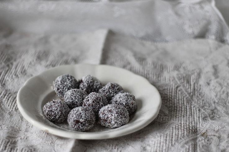 Děvče u plotny: Chokladbollar - švédské čokoládové kuličky