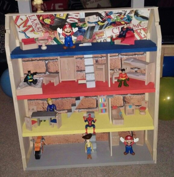 Diy Superhero House For Boys