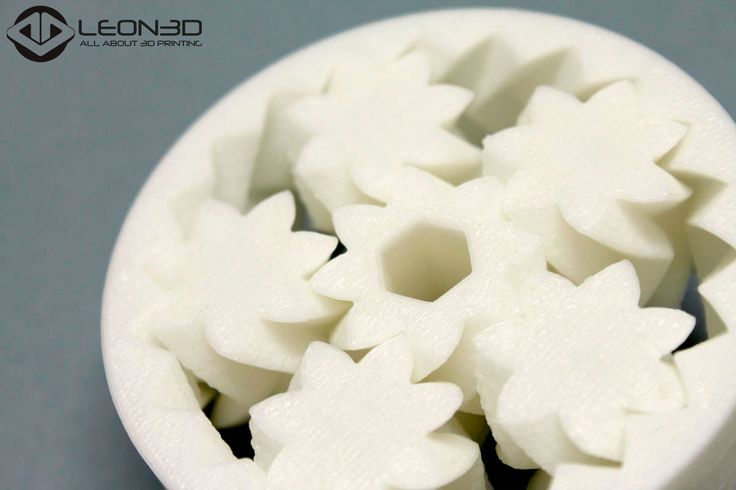 Rodamiento impreso en ABS BLANCO  #LEON3D #LIONPRO3D #LEGIO3D #allaboutprinting