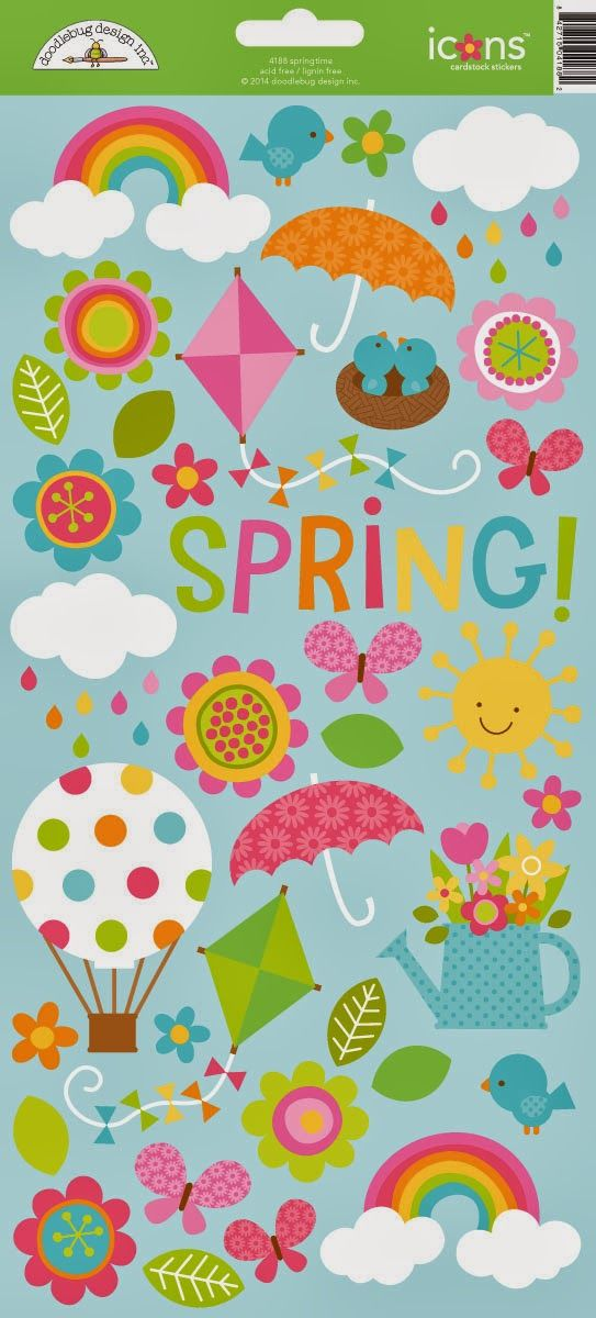 Doodlebug Design Inc Blog: Springtime Collection Launch Party + Giveaway