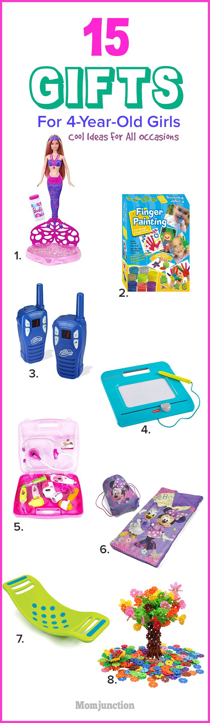 15 Best Gifts For 4-Year-Old Girls: Cool Ideas For All Occasions