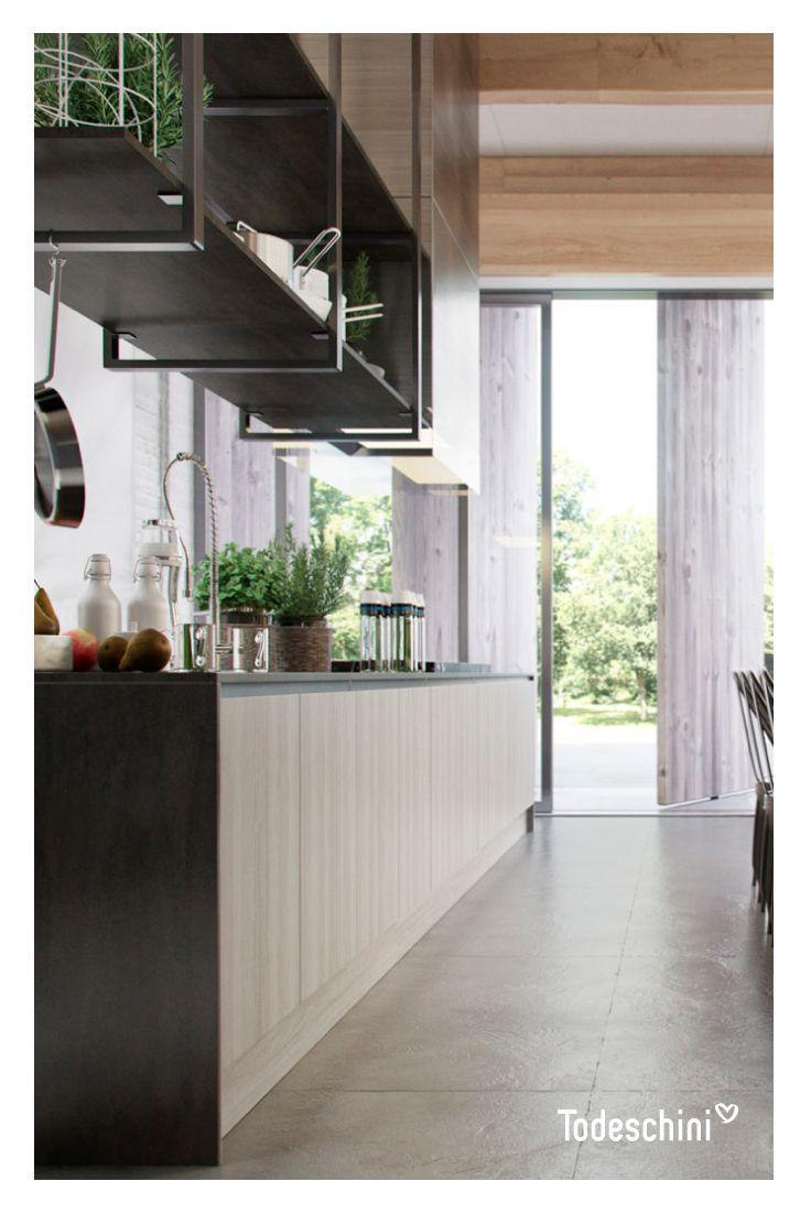 Las cocinas son lugares para compartir nuestras recetas favoritas. #Diseñodeinteriores #Decoración #Todeschini #ambientes #mueblesamedida #arquitectura #cocinas