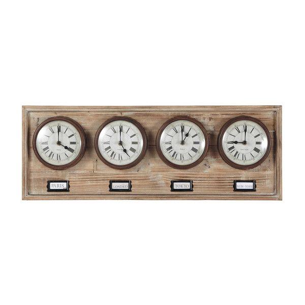 4 houten klokken RICHMOND B 71 cm