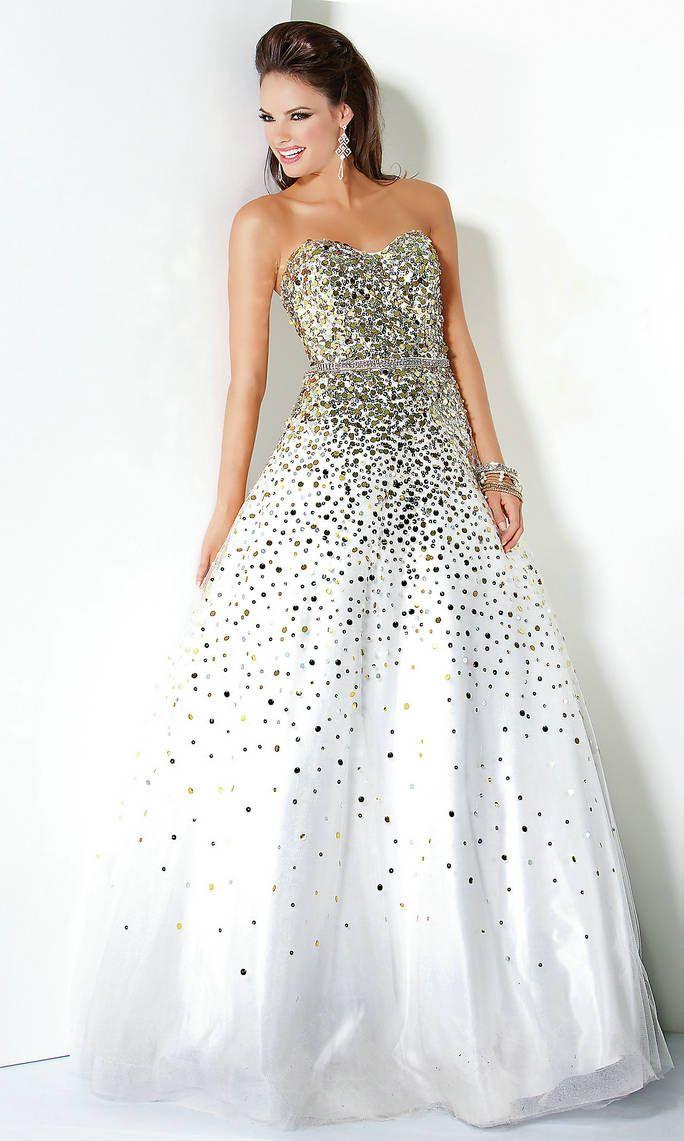25 best White Prom Dresses images on Pinterest | White prom dresses ...
