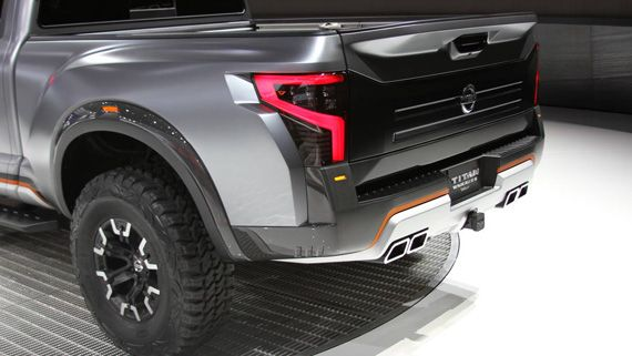 Кузов концепта пикапа Nissan Titan Warrior 2016 / Ниссан Титан Варриор