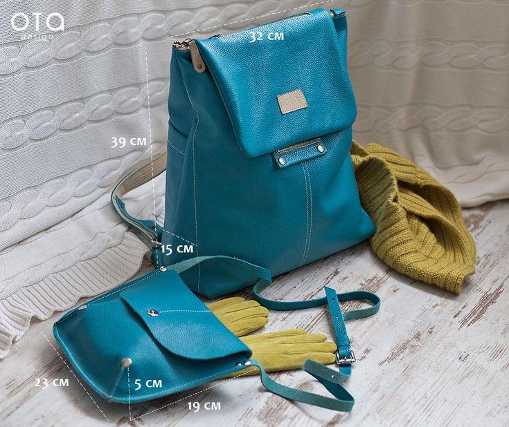 Optimistic ;) Тоня Андреева: Рюкзак BIG-size и маленькая сумочка к нему