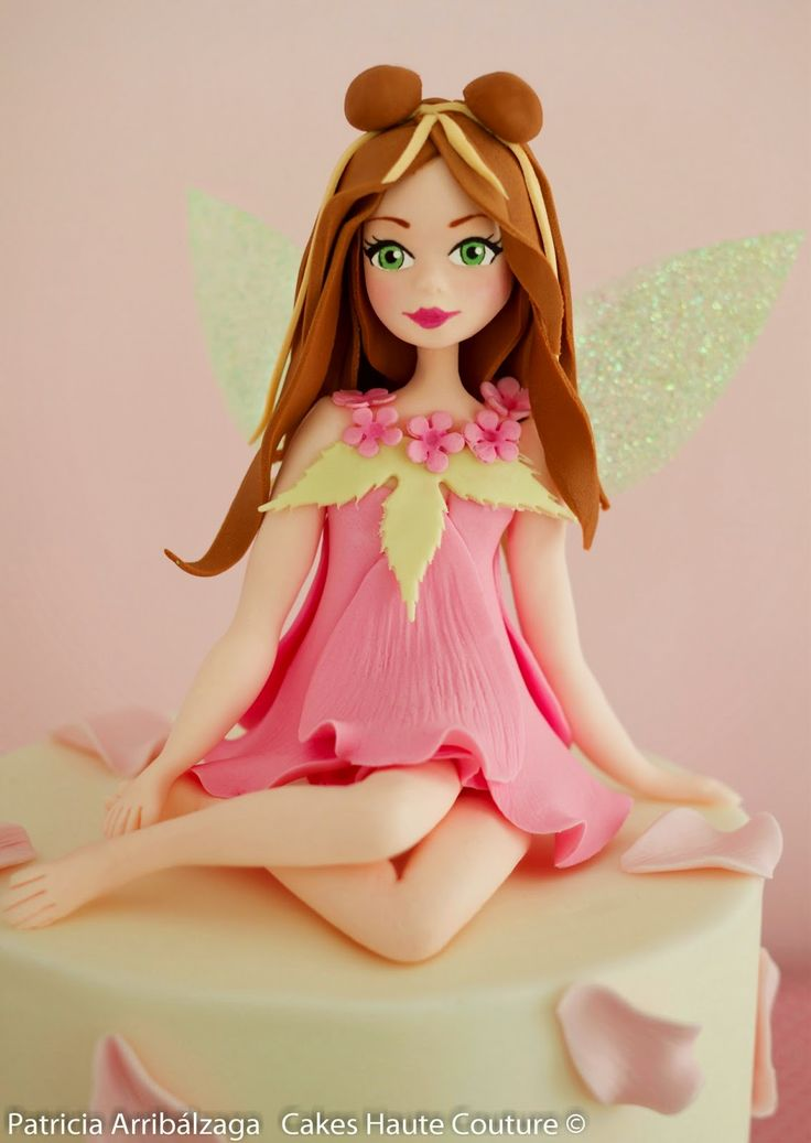 Sugar Fairy Cake / Tarta de hada de azúcar