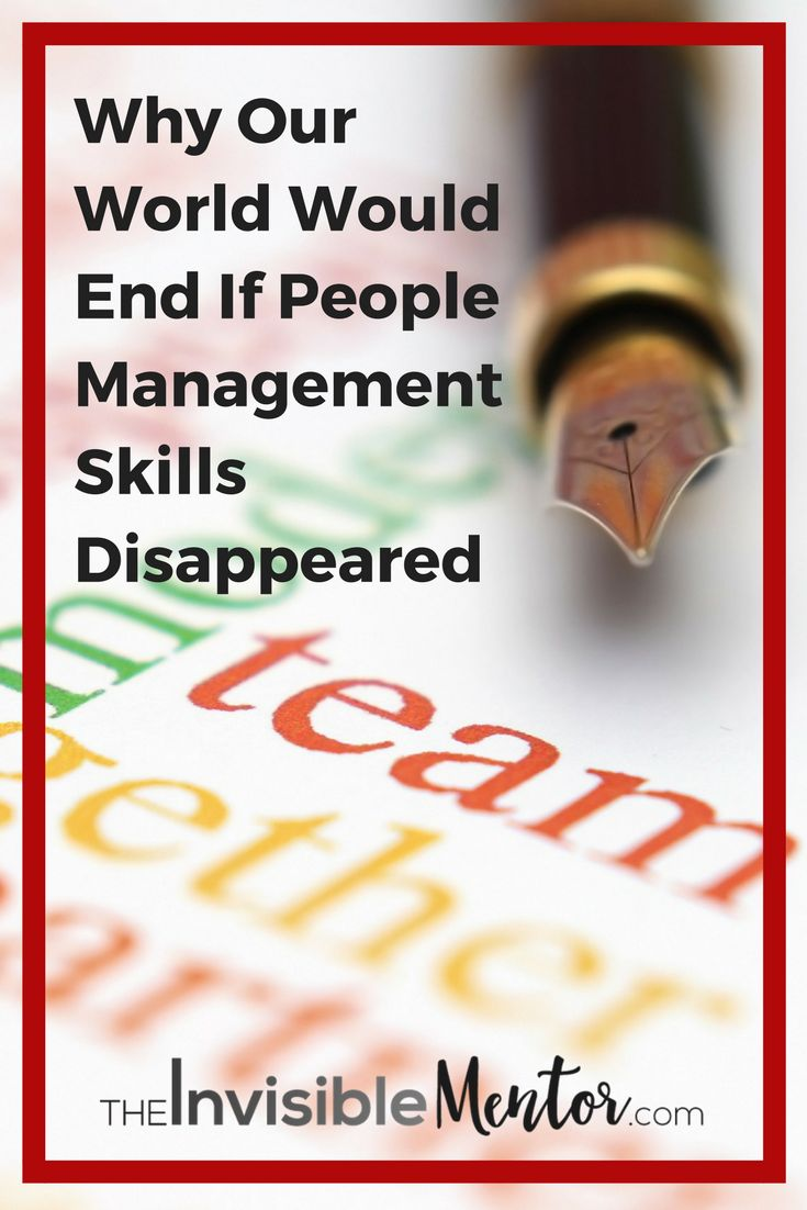 People management is one of the 10 key employability skills you'll need to succeed at work, but what is it? In this curated post on people management, you will learn what it is, the skills that make up people management, and you'll be introduced to models you can start using immediately in the workplace. Click through to read this post on how to effectively manage people, start building on what you learn, then prepare to thrive in 2020.