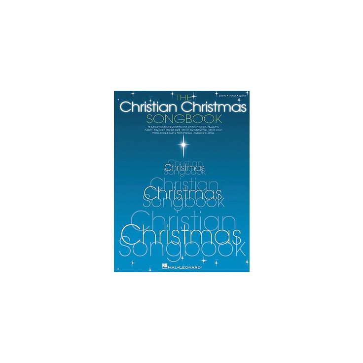 """- 317 pagesSize: 12"""" x 9""""Various ComposersISBN: 634047604 The Christian Christmas music book gives you sheet music, lyrics and chords for 46 classic and contemporary Christmas carols celebrating the s"""