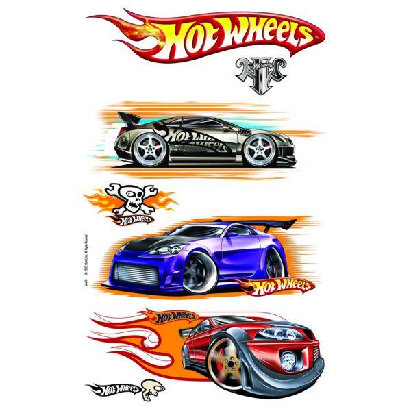 Iron On Transfers - Hotwheels