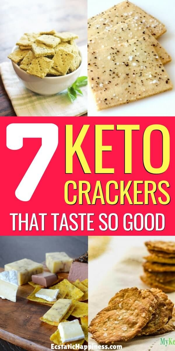 8 Easy Keto Crackers You D Be Crazy To Miss 2021 Keto Crackers Recipe Keto Diet Snacks Keto Diet Food List