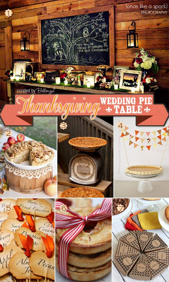 How To Create A Thanksgiving Wedding Pie Table
