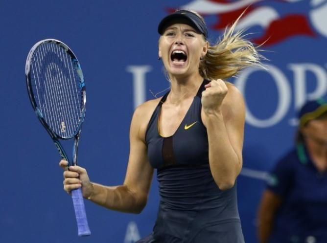 Maria Sharapova US Open 2014