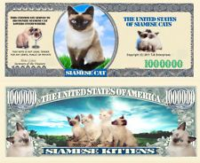 1/2/5/10 Scheine 1 Million Dollar Siamese Cat ! (A20SC10)