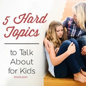 What topics do you avoid talking about with your kids? We have pretty much been through/talked about everything- but good to pin any-who