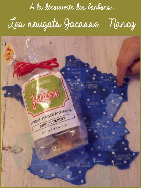 Les nougats de la nougaterie Jacasse - bonbons de France
