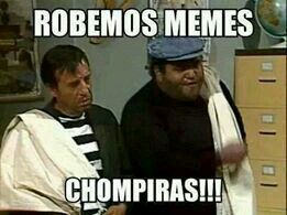 Robemos memes