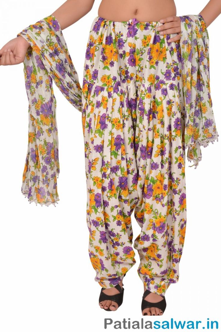Buy mix and match Printed Patiala Pants with Dupatta for Women in India, USA, UK, Maliyasa and more at great prices with perfect fitting and fine stitching.