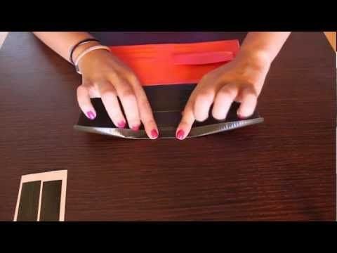 Tutorial ITA subENG - realizzare un semplice portamonete in pelle - simple leather coin pouch - YouTube
