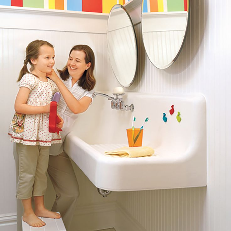 MAKE SURE YOUR BATHROOM IS KID ACCESSIBLE | How have you created a kid-friendly bathroom? | Kitchen Cabinet Kings