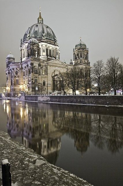 Berlin  the night